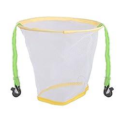 Generic Kid's Mesh Steel Basketball Hoop Net Ring Wall Mounted Hanging Basket
