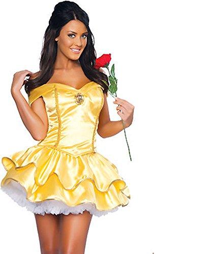 Halloween costumes Women Belle Disney Dress
