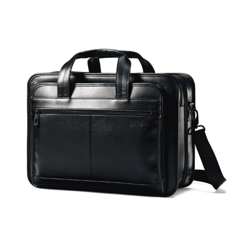 samsonite-leather-expandable-briefcase-black