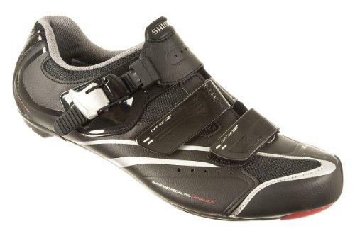 Shimano 2014 Men's Club Recreation Road Cycling Shoes – SH-R088LE (Black – 43)