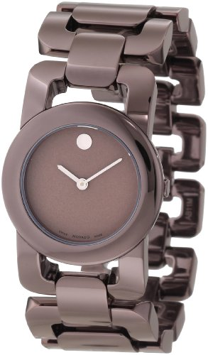 Movado Women's 0606573 Luma Brown PVD Watch