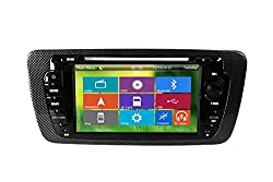 See Crusade Car DVD Player for Seat Ibiza 2013- Support 3g,1080p,iphone 6s/5s,external Mic,usb/sd/gps/fm/am Radio 7 Inch Hd Touch Screen Stereo Navigation System+ Reverse Car Rear Camara + Free Map Details