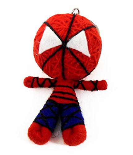 [Marvel Spiderman Voodoo String Doll Keyring Keychain] (Bride Of Frankenstein Costume Plus Size)