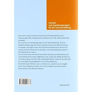 Schreib- und Gestaltungsregeln für die Textverarbeitung: Sonderdruck von DIN 5008:2011 (B