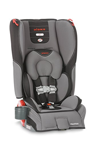 diono pacifica convertible plus booster seat with body pillow graphite baby shop. Black Bedroom Furniture Sets. Home Design Ideas