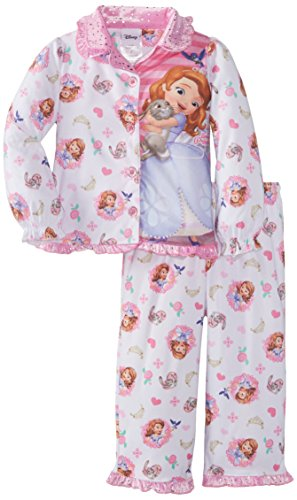 Sofia the First Girl's 2-6X Toddler Princess Sofia Hugs Coat Pajama Set игровой набор disney sofia the first дворец bdk61