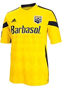 Columbus Crew Adidas MLS Performance Replica Jersey - Yellow by adidas