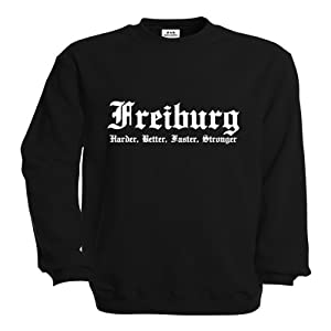 dress-puntos Sweatshirt Freiburg Harder, Better, Faster, Stronger drpt-s00062