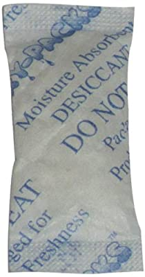 Aroma Dri 2000-Pack Silica Dehumidifiers Gel Packet, Vanilla Scented