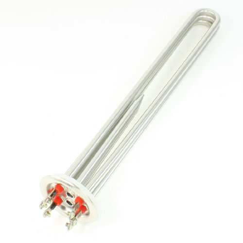 "380V 9Kw Electric Water Boiler Heating Element 13.7"" Length"