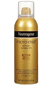 Neutrogena MicroMist Airbrush Sunless Tan (Medium Tint)