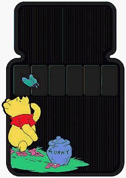 Winnie the Pooh Car Floor Mats (Pooh Car Mats compare prices)