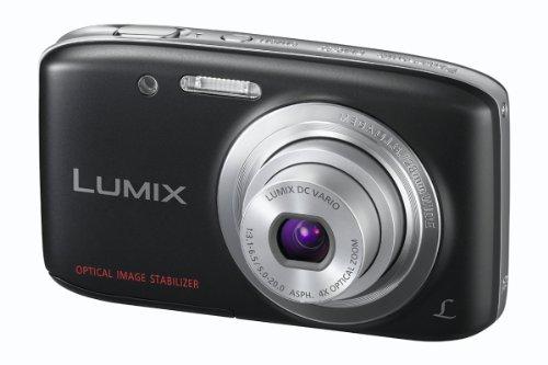 Panasonic DMC-S5EB-K Camera - Black (16MP, 4x Optical Zoom) 2.7 inch LCD