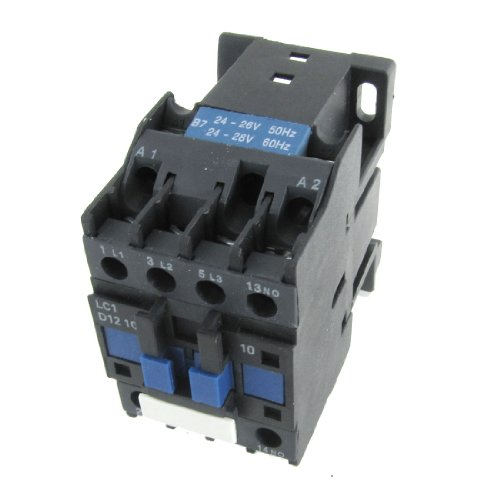 Ui 690V Ith 25A 3 Pole No Contact Ac Contactor 24 Volts Coil Lc1D1210