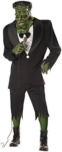 California Costume Collection - Big Frank Adult Costume - One-Size - Green
