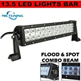 "Tuff Stuff Performance 10"" Led- 12"" Off Road Led Light Bar Flood/spot Combo Beam- 3w Led-72w-4500 Beware: ALL Other Resellers ARE Selling Lower Grade Lights and Fooling YOU They ARE NOT Tuffstuff - Beware (((Good Luck with the Warranty)))"