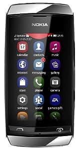 Nokia Asha 305 (Silver-White)
