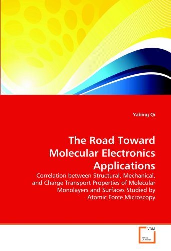 The Road Toward Molecular Electronics Applications: Correlation Between Structural, Mechanical, And Charge Transport Properties Of Molecular Monolayers And Surfaces Studied By Atomic Force Microscopy
