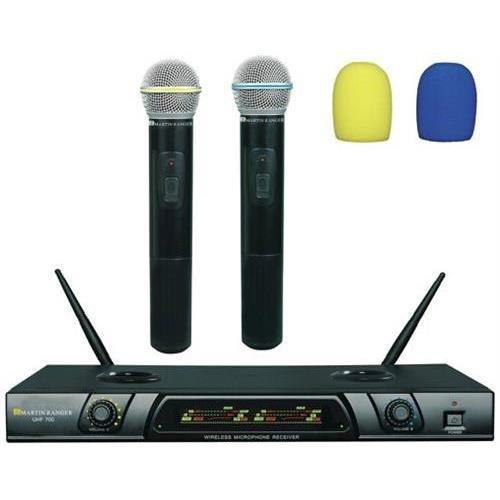 Martin Ranger Uhf-700 - Dual Channel Plug-N-Recharge Wireless Microphone Bare Drive