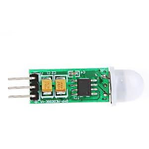 TOMTOP Mini IR Pyroelectric Infrared PIR Motion Human Sensor Detector Module