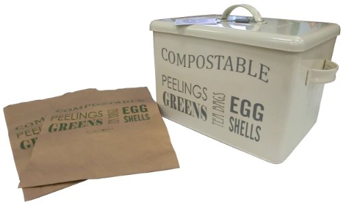 Secret Garden Burgon and Ball Compost Bin - Jersey Cream