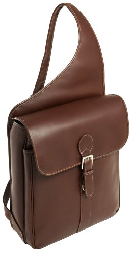 siamod-sabotino-25414-cognac-leather-vertical-messenger-bag