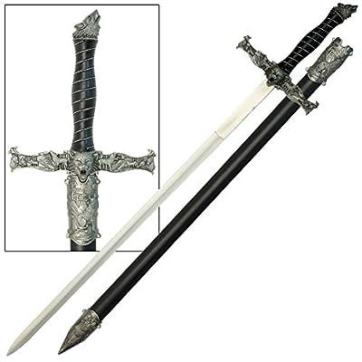 Spirit of the Alpha Wolf Medieval Sword