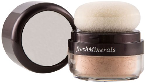 freshMinerals Mineral Powder Foundation, Light Beige, 6 Gram