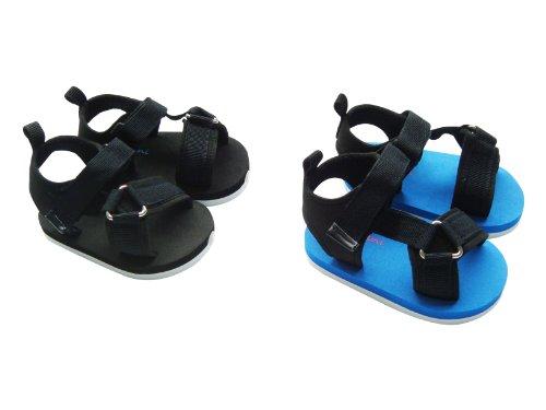 MABINI® Baby Boys Canvas Strap Summer Velcro Eva Sandals