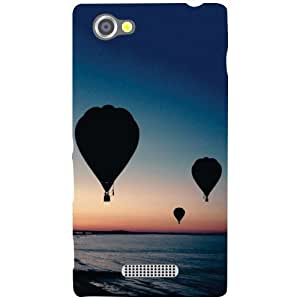 Sony Xperia M Back cover - Balloons Designer cases