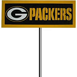 Team Sports American Green Bay Packers Garden Sign by Team Sports America