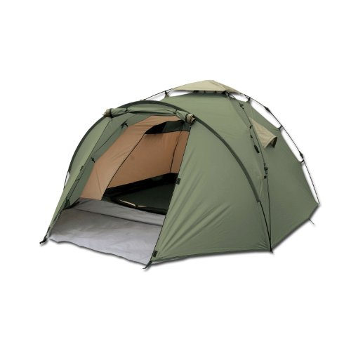 Zelt Camouflage Test : Zelt highlander arran pop up oliv test