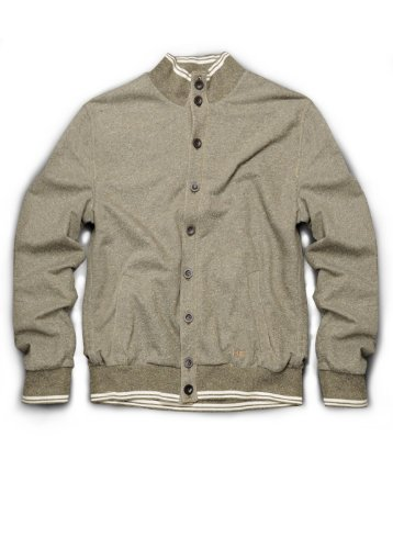 H.E. Homini Emerito Men's Jacket Delhi, M, Lichen