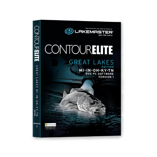 Lakemaster 6000161  Contour Elite Mapping Software - Great Lakes (Mapping Software compare prices)
