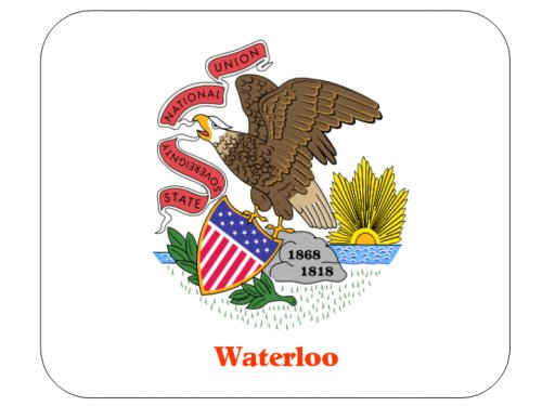 Waterloo Mouse Pad