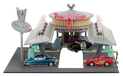 Disney Pixar Cars The Movie Flo's V8 Cafe Playset - Buy Disney Pixar Cars The Movie Flo's V8 Cafe Playset - Purchase Disney Pixar Cars The Movie Flo's V8 Cafe Playset (Mattel, Toys & Games,Categories,Play Vehicles,Vehicle Playsets)