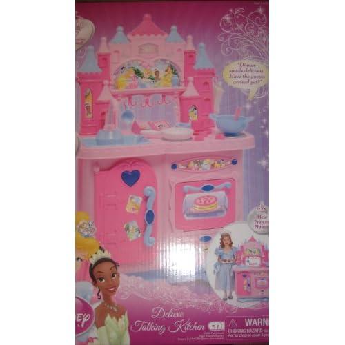 Amazon.com: Disney Princess Deluxe Talking Kitchen
