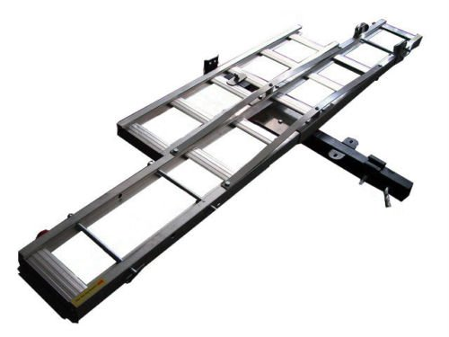 Motorcycle Dirt Bike Carrier Trailer Suv Rv Hauler Rack With Ramp front-233153