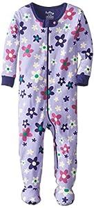 Hatley Infant Footed Coverall -Lilac Flowers - Pijama para niñas