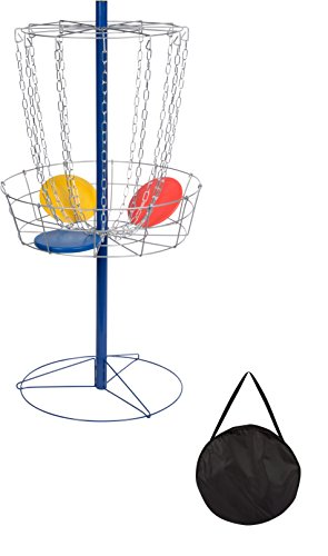 portable-metal-disc-frisbee-golf-goal-set-comes-with-9-discs-by-trademark-innovations