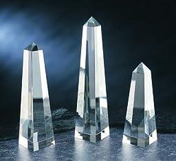 Obelisk Crystal Award - Large