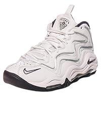 Men's Nike Air Pippen White/black/metallic Silver