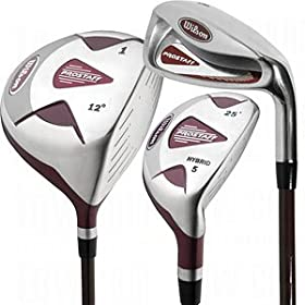 Wilson Womens ProStaff Hybrid Woods/Irons Set - Standard