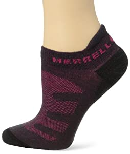 Merrell Women's Lithe Glove - Charcoal Heather/Pink, Large