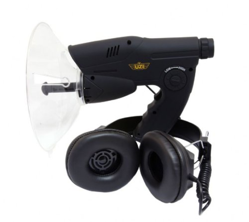 Uzi Observation Listening Device With 300-Feet Range And Noise Reduction, Black