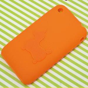 ロディ ロディ iphone シリコンケース オレンジ