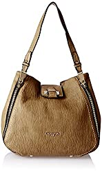 Carlton London Women's Handbag (Beige) (CLLP-103)