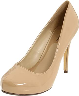 Michael Antonio Women's Love Me Pump,Nude Patent,6 M US