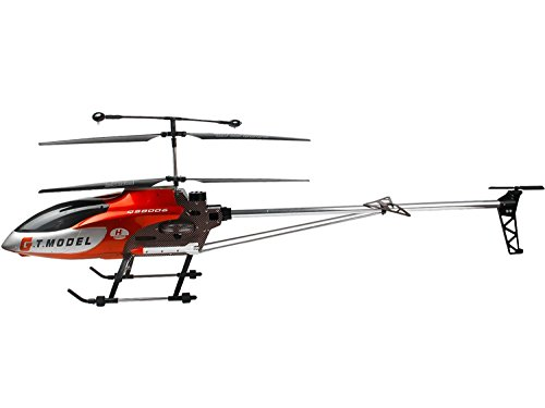 53 Inch Extra Large GT QS8006 2 Speed 3.5 Ch RC Helicopter Builtin GYRO Red (Outdoor Helicopter compare prices)