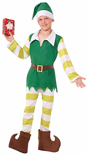 Christmas Jingles the Elf Child Costume By Dazzling Costumes, Child Small